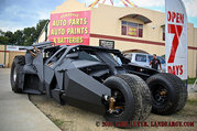 Batman's Tumbler Replica